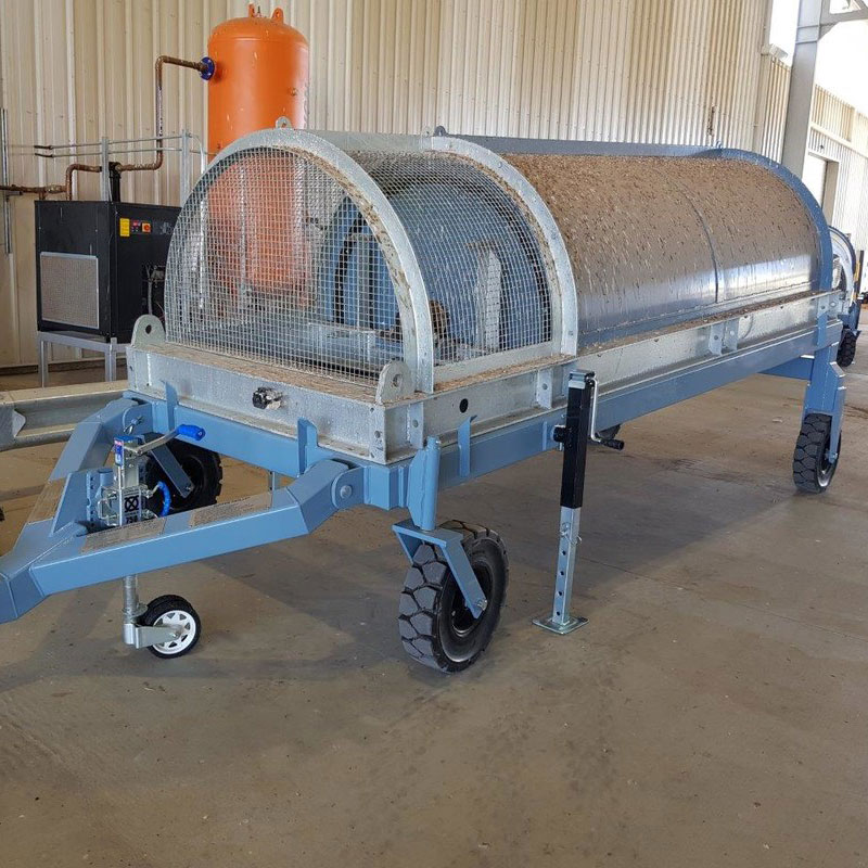Buffer trolley designed for CSD (cotton seed distributors) project