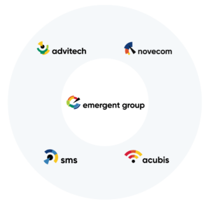 Family of Emergent Group logos
